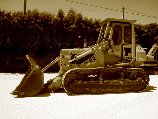 Loader and Dozer