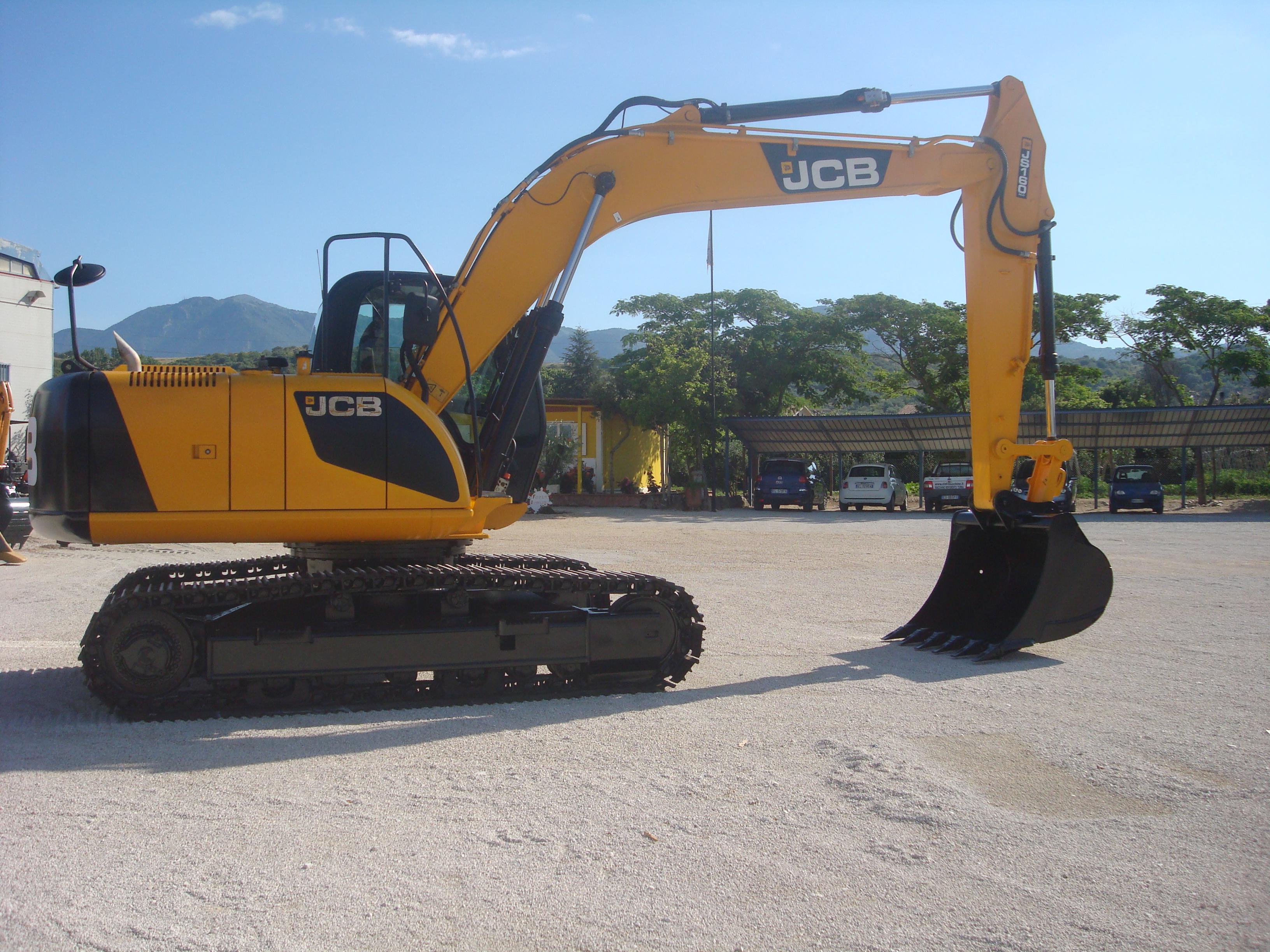 Escavatore Cingolato JCB JS160