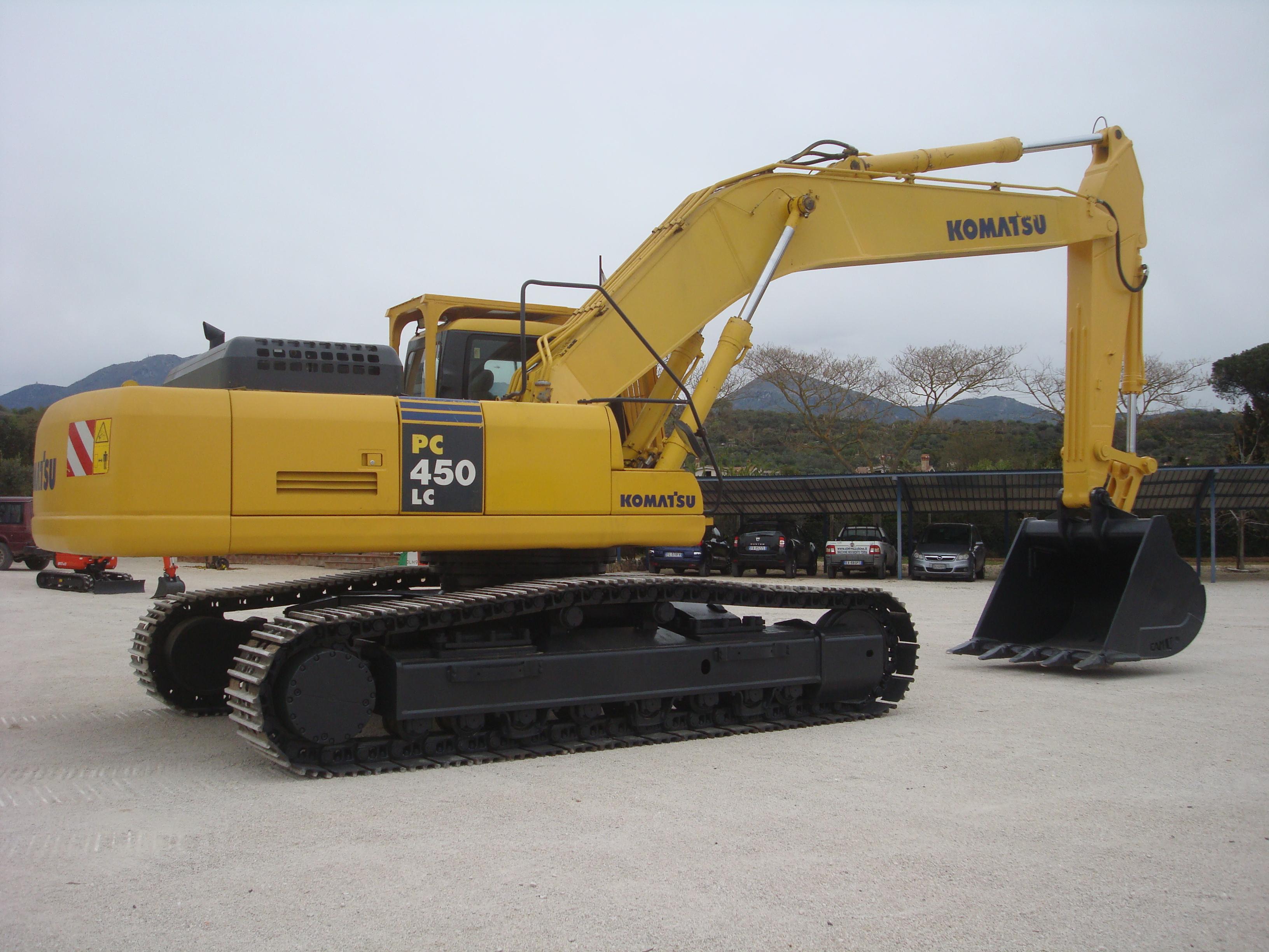 Escavatore Cingolato Komatsu PC450LC-7